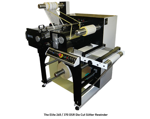 Image of the Elite 265 / 370 Die Cut Slitter Rewinder