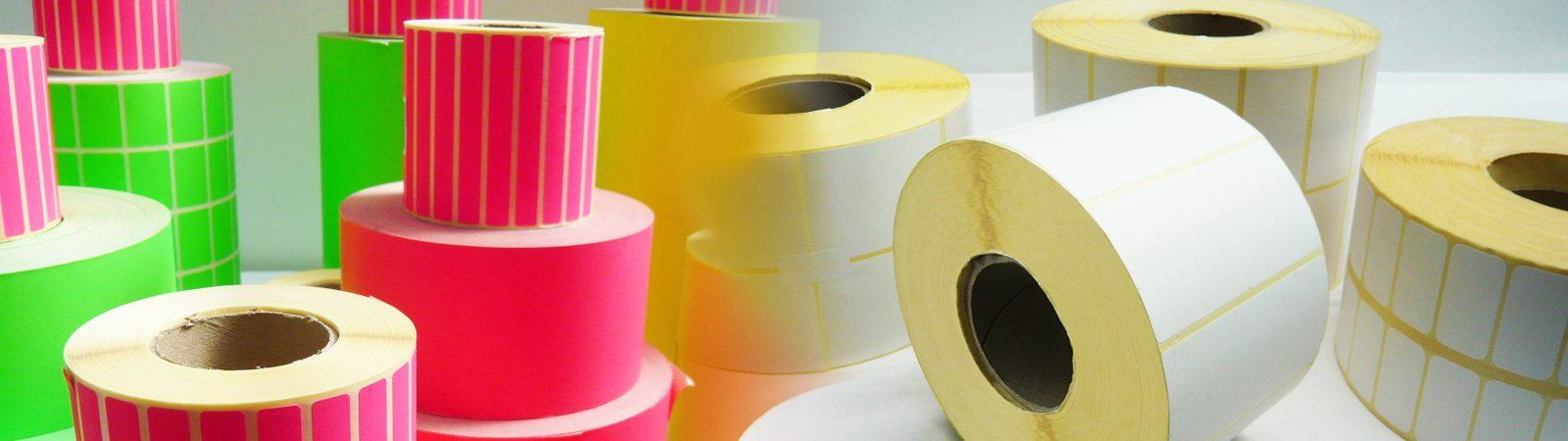 Image of thermal transfer printed labels