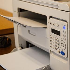 Douglas Storrie Labels, Plain A4 sheets product image printer.